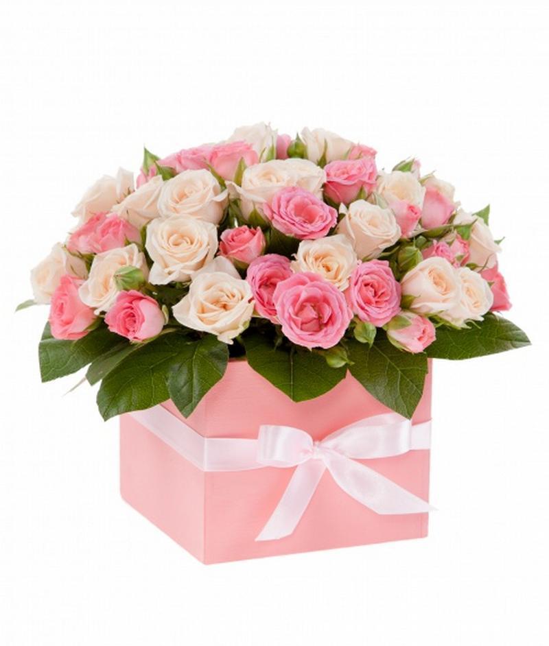 Цветы в коробках №1