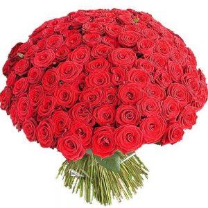 Букет №8 из 101 уральской розы
