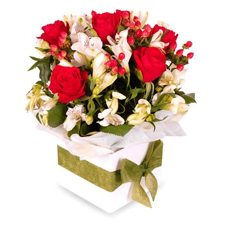 Цветы в коробках №4