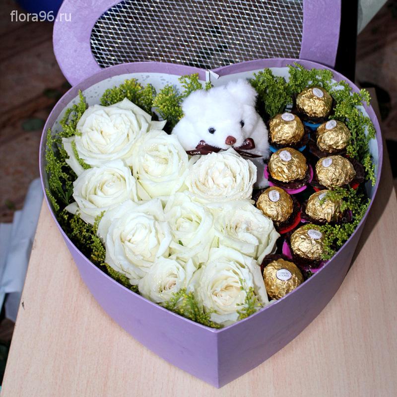 Цветы в коробках №3