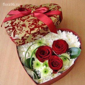 Цветы в коробках №5