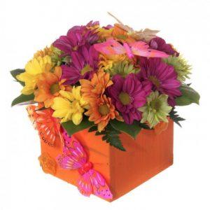 Цветы в коробочках №5