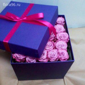 Цветы в коробках №8
