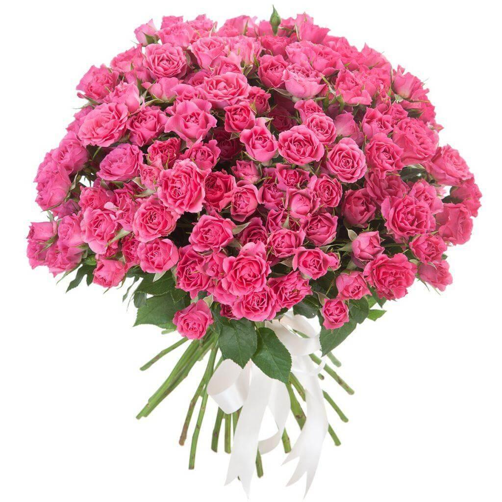 Букеты №2 из кустовых роз