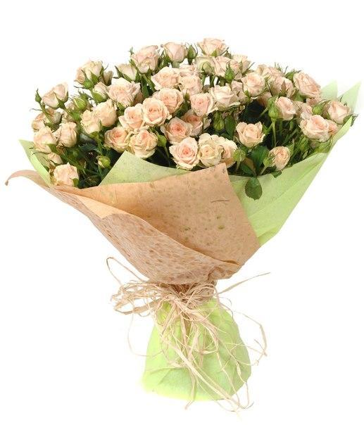 Букеты №4 из кустовых роз
