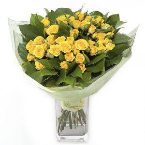 Букеты №5 из кустовых роз