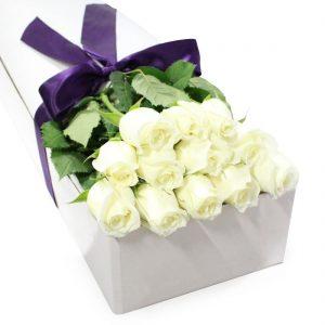 Цветы в коробках №10