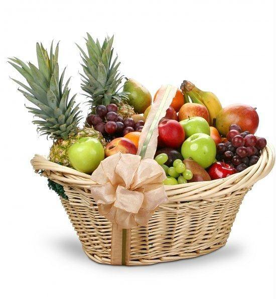 Корзина с фруктами 5