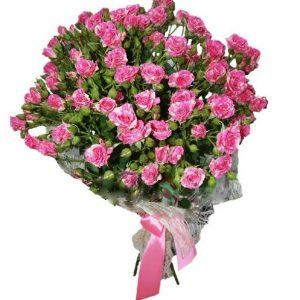 Букеты №6 из кустовых роз