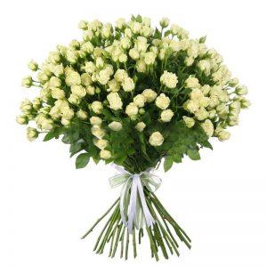 Букеты №13 из кустовых роз