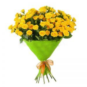 Букеты №15 из кустовых роз