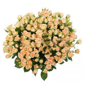Букеты №16 из кустовых роз