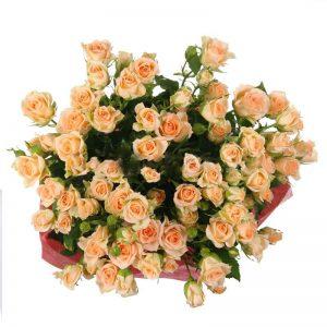 Букеты №8 из кустовых роз