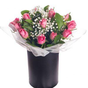 Цветы в коробках №16
