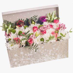 Цветы в коробках №18