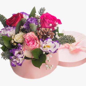 Цветы в коробках №19