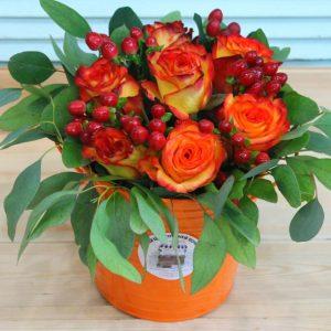 Цветы в коробках №13