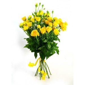 Букеты №7 из кустовых роз
