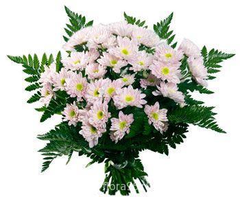 Букет из хризантем №11