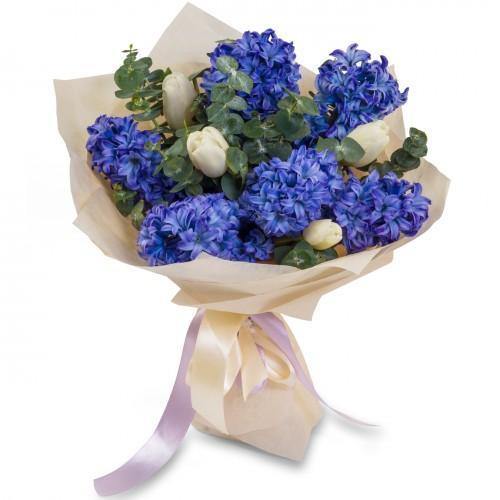 Букет из тюльпанов №15