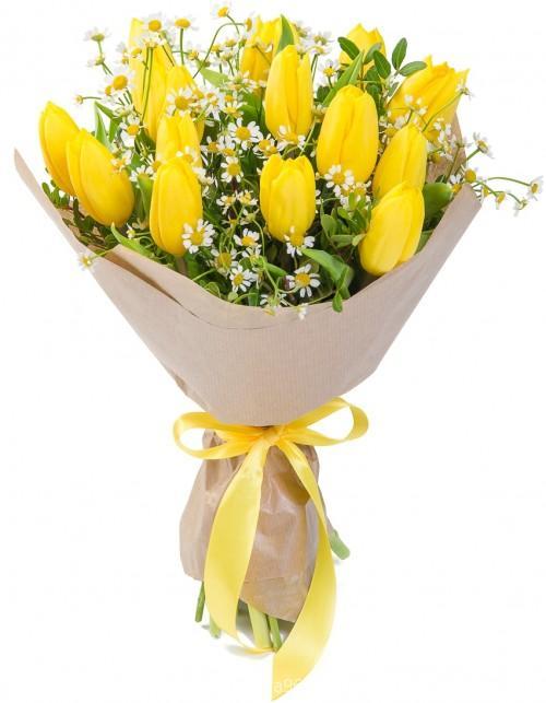 Букет из тюльпанов №14