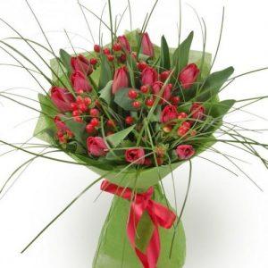 Букет из тюльпанов №5
