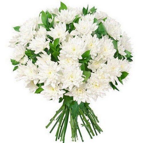 Букет из хризантем №6